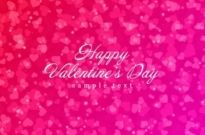 Free vector Vector background  Shiny Hearts Bokeh Light Valentine's Day Background