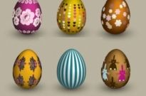 Free vector Vector misc  six eggs vector