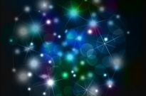 Free vector Vector abstract  Sky night Abstract background