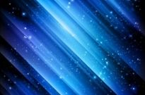 Free vector Vector background  Snow and Stars Winter Blue Background
