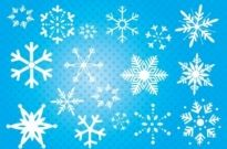 Free vector Vector misc  Snowflakes