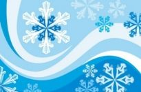 Free vector Vector background  Snowflakes Winter Background Vector