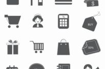 Free vector Vector icon  Soulico  Shopping icon