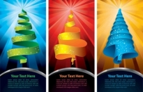 Special christmas tree vector Free vector 306.01KB