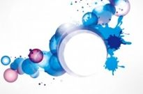 Free vector Vector background  splash ring background