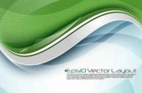 Free vector Vector background  Stream line vector background