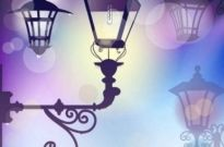 Free vector Vector background  Street light background