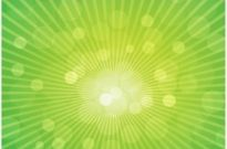 Free vector Vector background  Sun Rays on Green Background