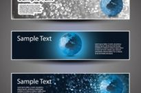 Free vector Vector banner  technology banner background 04 vector