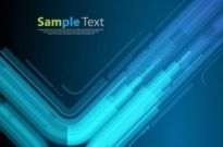 Free vector Vector abstract  Technology Style Blue Abstract Background Vector