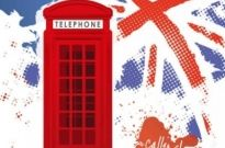 Free vector Vector background  Telephone booth vector background