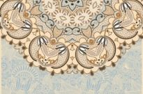 Free vector Vector background  the retro classic pattern background 01 vector