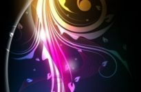 Free vector Vector background  the stylish tread dynamic background vector