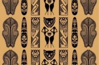Free vector Vector pattern  Traditional African Pattern Vector