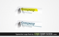Free vector Vector misc  Typewriter Logo Pack