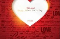 Free vector Vector background  Valentine's Day greeting cards