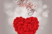 Free vector Vector background  Valentine's Day Rose heart vector Graphcis