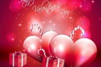 Free vector Vector background  Valentine's Day Vector Red Background
