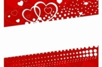 Free vector Vector background  Valentine day background