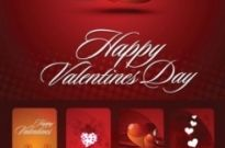 Free vector Vector Heart  valentine day card vector