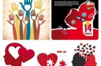 Free vector Vector Heart  valentine day creative element vector