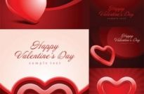Free vector Vector background  valentine day heartshaped texture vector background