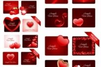 Free vector Vector Heart  valentine day romantic elements vector