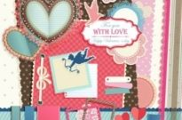 Free vector Vector Heart  valentine labels vector