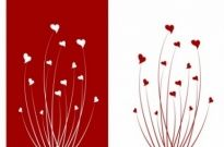 Free vector Vector Heart  Valentine love flower