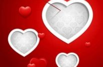 Free vector Vector background  Valentine Vector Red Background