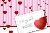 Free vector Vector Heart  Valentine's Day Card Vector Graphic