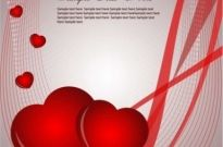 Free vector Vector Heart  Valentine's Card Vector Graphic