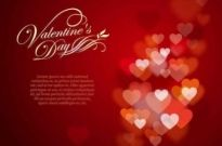 Free vector Vector background  Valentine's Day Background