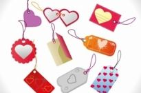 Free vector Vector misc  Valentines Day Sales Tags