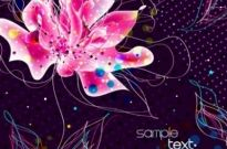 Free vector Vector background  vector background floral fantasy 01