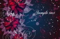 Free vector Vector background  vector background floral fantasy 02