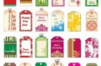 Free vector Vector Christmas  Vector Christmas Tickets and Tags