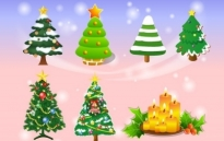 Vector Christmas Tree Free vector 2.01MB