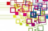 Free vector Vector misc  Vector Colorful Squares Vector Backgound
