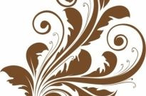Vector Decorative Floral Design Free vector 346.66KB
