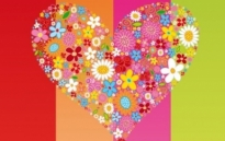 Free vector Vector flower  Vector HEART Flowers