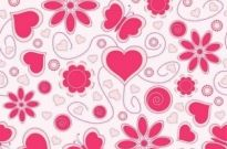 Free vector Vector background  Vector Love Pattern Background
