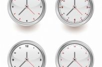 Free vector Vector misc  Vector Set of Clocks