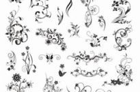 Free vector Vector misc  Vector Vintage Ornamental Design Elements
