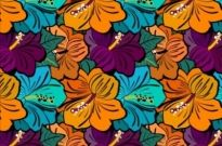 Free vector Vector pattern  Very flowery Ai free patterns