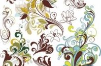 Free vector Vector floral  Vintage Floral Design Elements