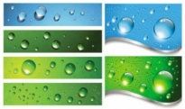 Free vector Vector background  water drops background vector
