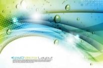 Free vector Vector background  water waves background