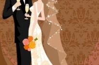 Free vector Vector background  wedding card background 01 vector