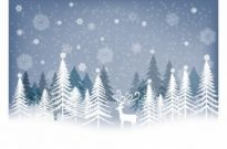 Free vector Vector Christmas  Winter Background